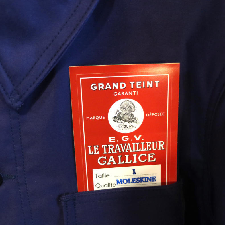 【LE TRAVAILLEUR GALLICE 】COVERALL JACKET_d0000298_19004520.jpg