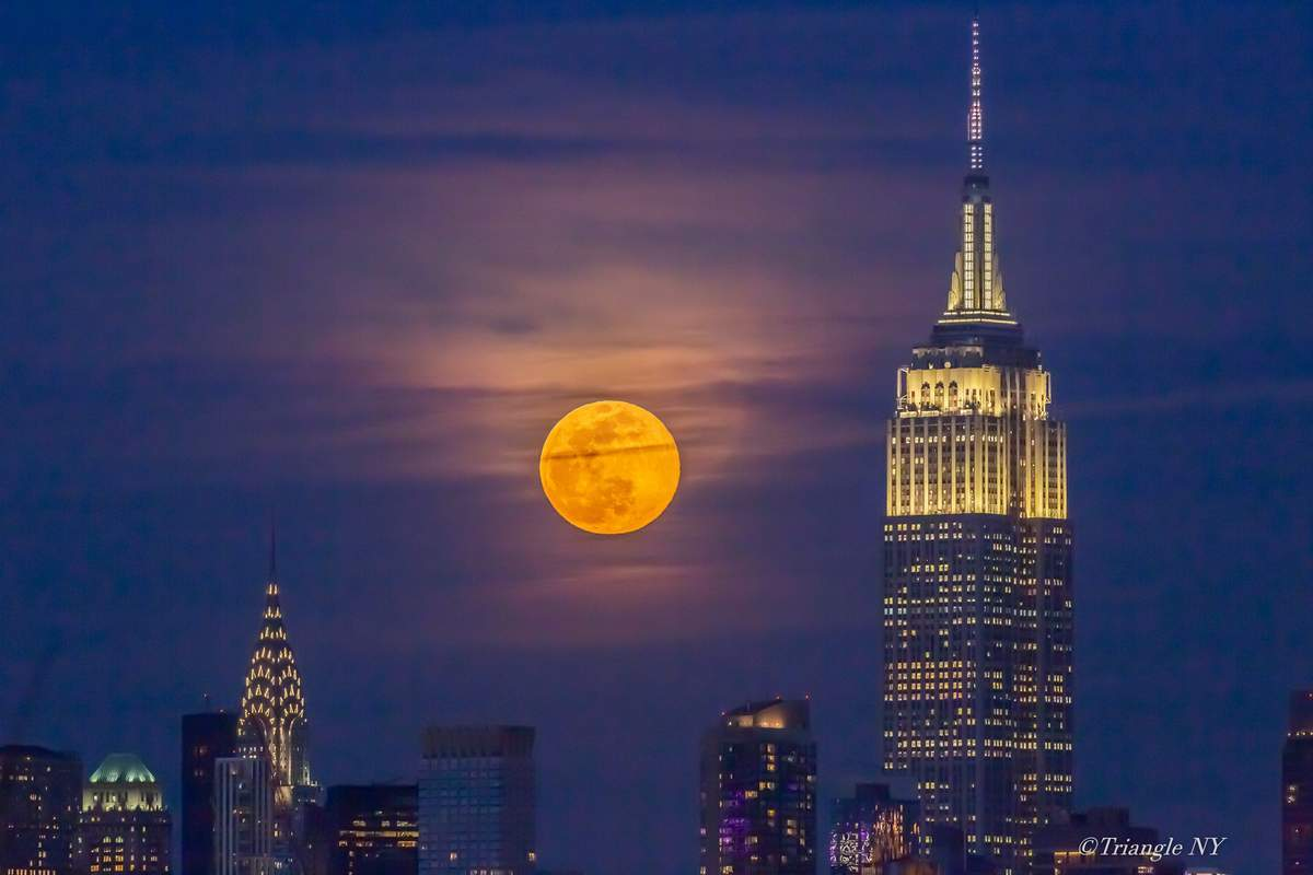 First Super Moon on March 9, 2020   -Super Worm Moon-_a0274805_11125235.jpg