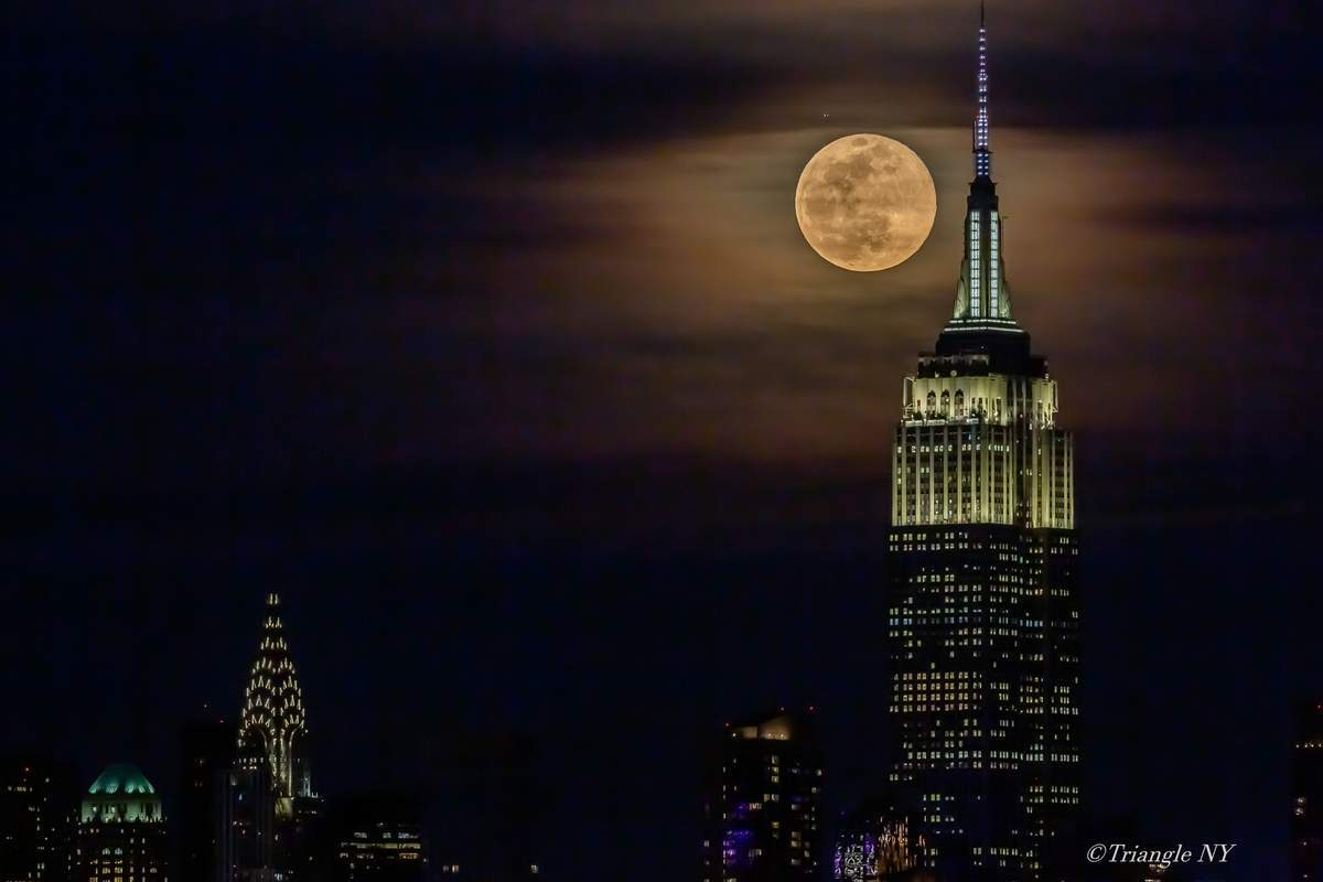 First Super Moon on March 9, 2020   -Super Worm Moon-_a0274805_11125987.jpg