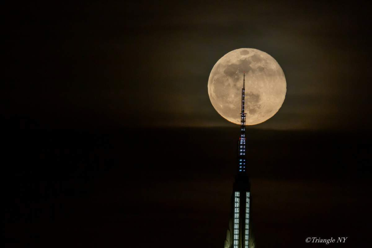 First Super Moon on March 9, 2020   -Super Worm Moon-_a0274805_11130794.jpg