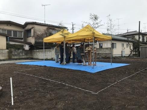 筑西市にて地鎮祭を執り行いました。_a0059217_14590397.jpg