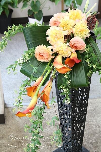 季節を楽しむ:花束レッスン2月_a0085317_22405820.jpg