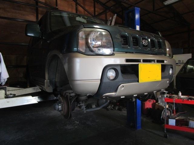 Jeepじゃないけれど ジムニー整備_b0123820_18021863.jpg