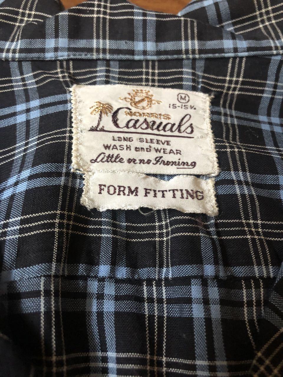 アメリカ仕入れ情報#32 3/14入荷! 60s Moriis Casuals all cotton  オープンカラー ビンテージ シャツ!_c0144020_13073579.jpg