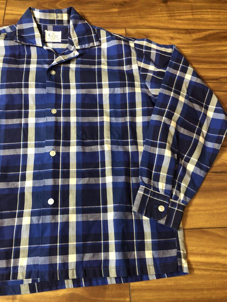 アメリカ仕入れ情報#33 3/14入荷! 50s all cotton Lanier オープンカラー ボックスシャツ!_c0144020_13122178.jpg