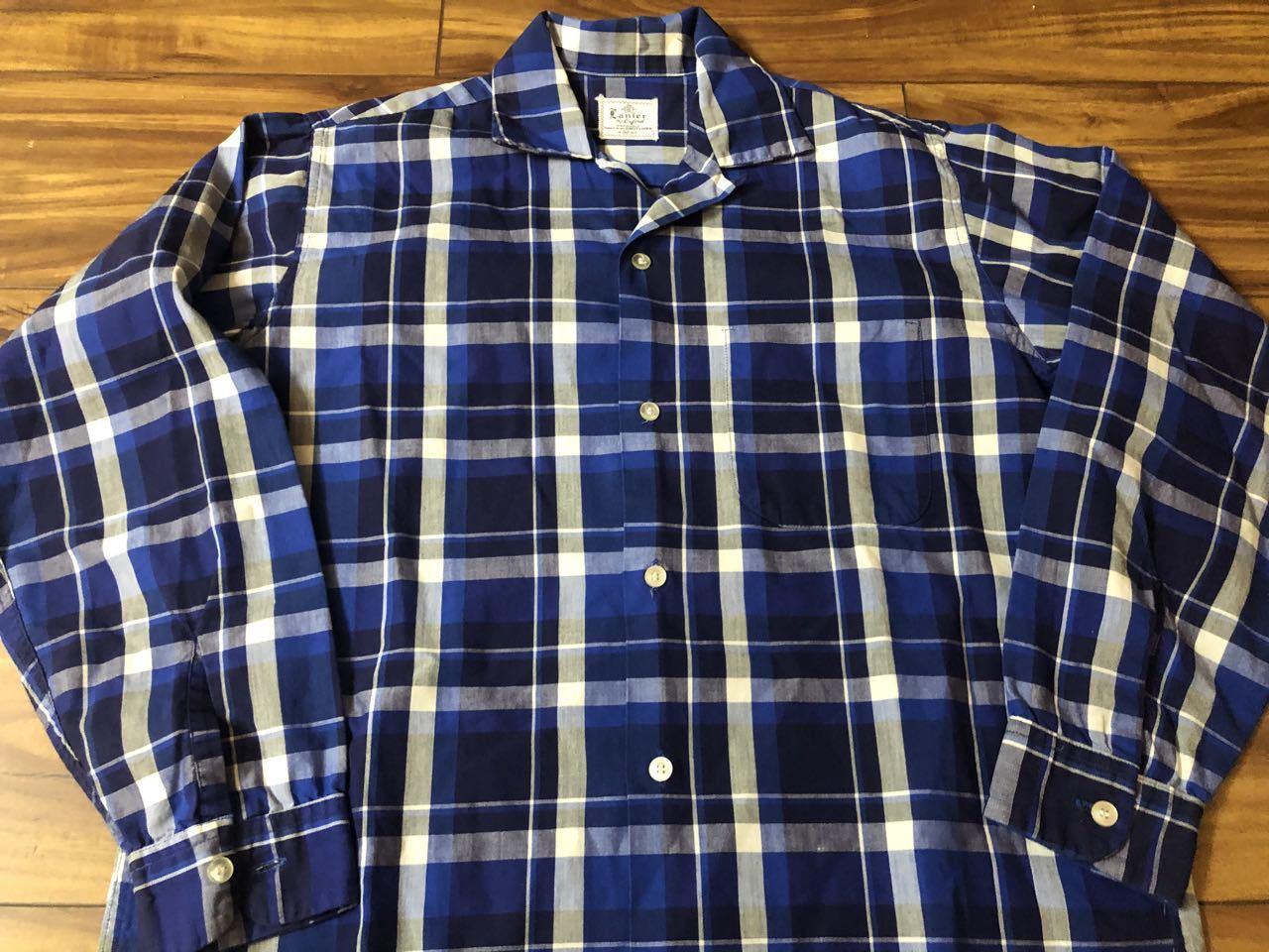 アメリカ仕入れ情報#33 3/14入荷! 50s all cotton Lanier オープンカラー ボックスシャツ!_c0144020_13122325.jpg