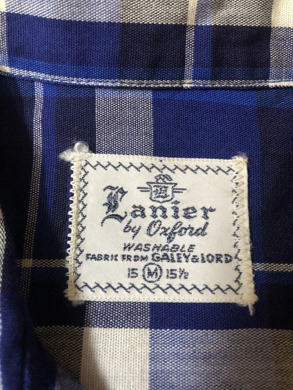 アメリカ仕入れ情報#33 3/14入荷! 50s all cotton Lanier オープンカラー ボックスシャツ!_c0144020_13122573.jpg