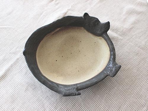 伊藤菜穂子さんの動物鉢、動物皿。_a0026127_18013951.jpg