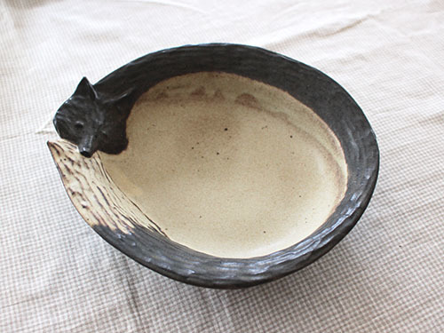 伊藤菜穂子さんの動物鉢、動物皿。_a0026127_19073681.jpg