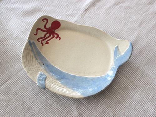 伊藤菜穂子さんの動物鉢、動物皿。_a0026127_19131213.jpg