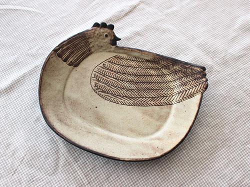 伊藤菜穂子さんの動物鉢、動物皿。_a0026127_19131262.jpg