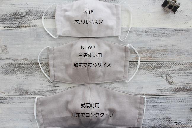 型紙 サイズ マスク