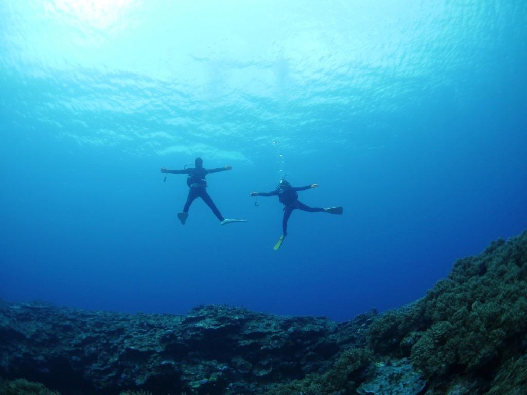 青い海は気持ちイイなぁ~♪_a0189838_14452149.jpg