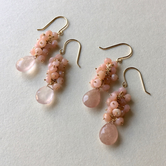 桜の季節に・・・ピンクオパールのピアス_b0278339_12292871.jpg