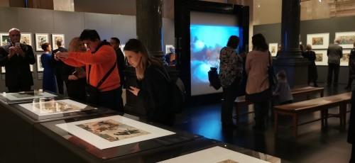 ラトビア共和国美術館で開催日本展の写真が届く_b0115553_00132771.jpg