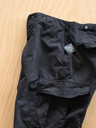 Porter Classic WEATHER CARGO PANTS / BLACK_b0139281_18322317.jpg