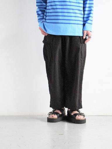 Porter Classic WEATHER CARGO PANTS / BLACK_b0139281_18332312.jpg