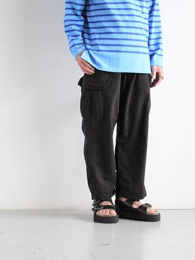 Porter Classic WEATHER CARGO PANTS / BLACK_b0139281_18334093.jpg