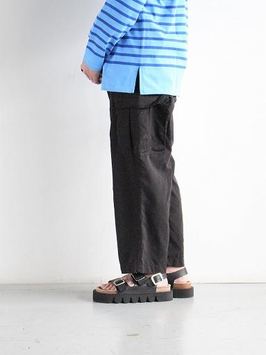 Porter Classic WEATHER CARGO PANTS / BLACK_b0139281_18335559.jpg
