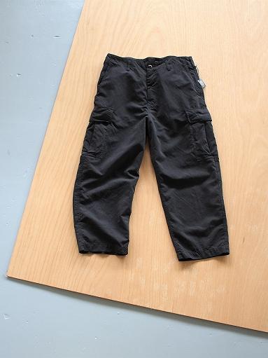 Porter Classic WEATHER CARGO PANTS / BLACK_b0139281_183446100.jpg
