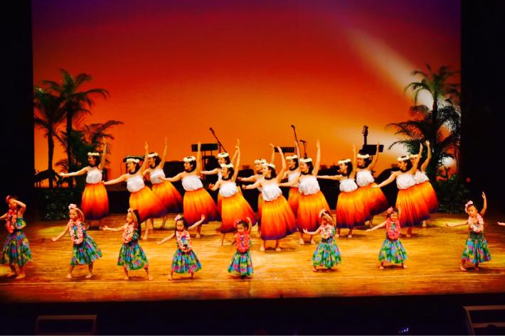 【イベント報告】2/23慶應義塾大学フラサークルPili Aloha/オリジナル単独公演にゲスト出演したキッズフラダンサーズに、はなまる!♡_e0397681_09004151.jpg
