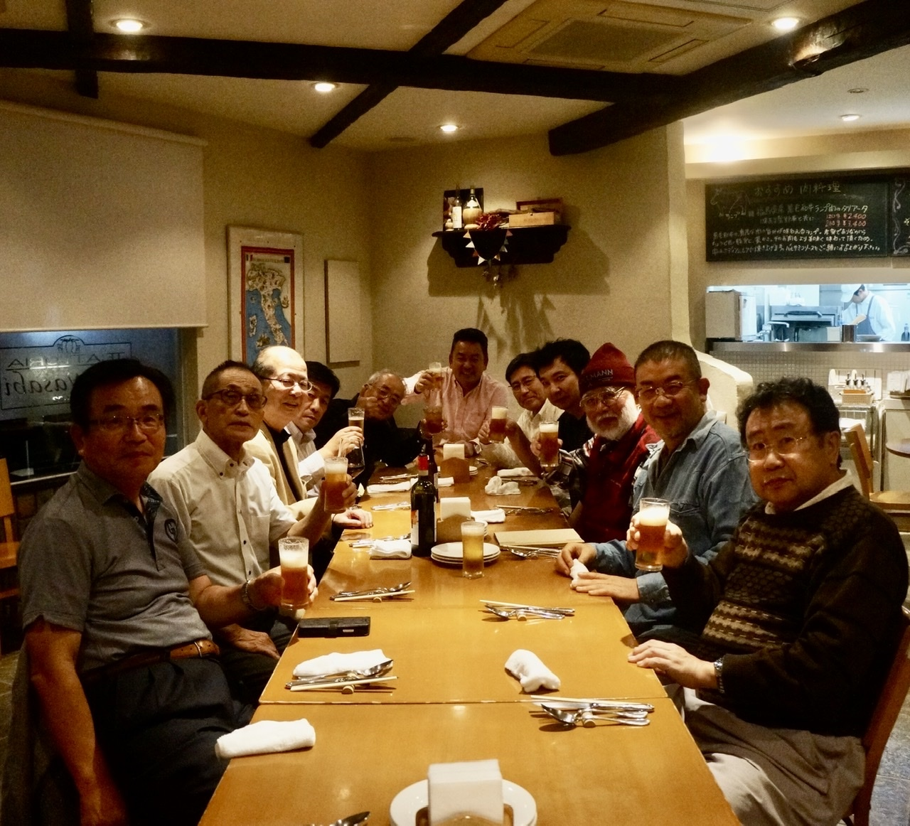 10/26 夜は異業種晩餐@LaWasabi_c0180686_01502605.jpeg