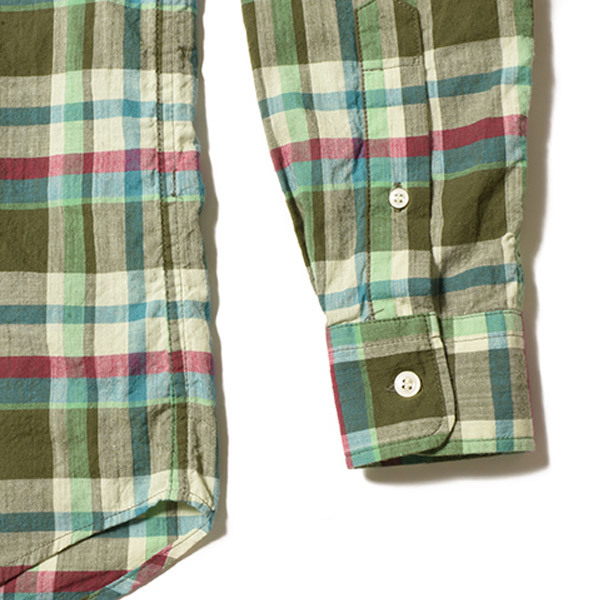 【DELIVERY】 STANDARD CALIFORNIA - Madras Check Button-Down Shirt_a0076701_17374400.jpg