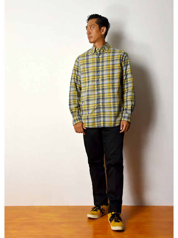 【DELIVERY】 STANDARD CALIFORNIA - Madras Check Button-Down Shirt_a0076701_17381836.jpg
