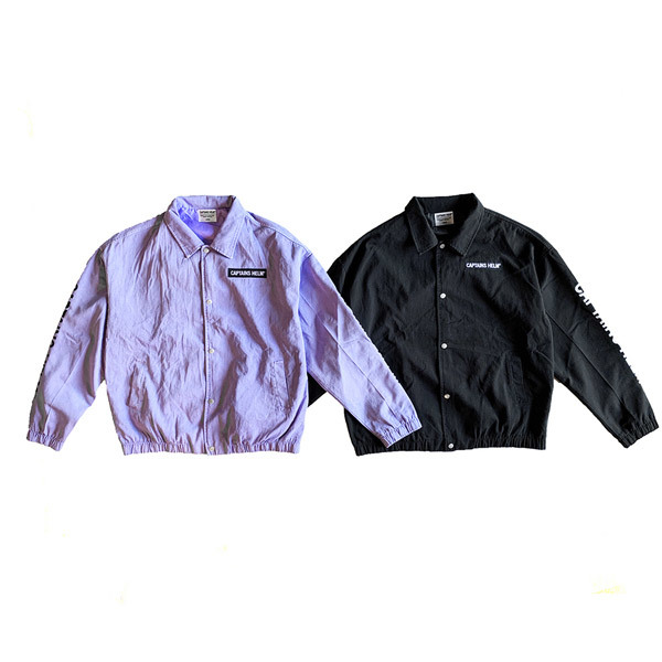 【DELIVERY】 CAPTAINS HELM - #TRADEMARK COTTON COACH JACKET_a0076701_17435202.jpg