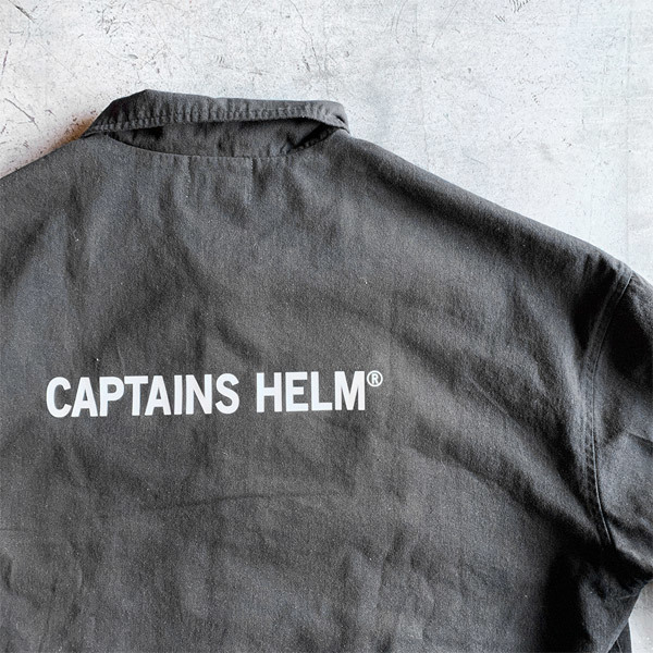 【DELIVERY】 CAPTAINS HELM - #TRADEMARK COTTON COACH JACKET_a0076701_17442807.jpg
