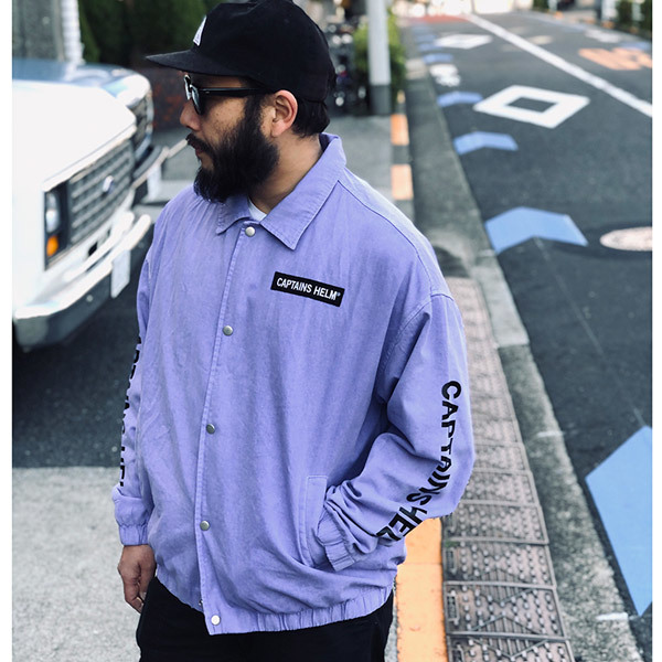 【DELIVERY】 CAPTAINS HELM - #TRADEMARK COTTON COACH JACKET_a0076701_17454018.jpg