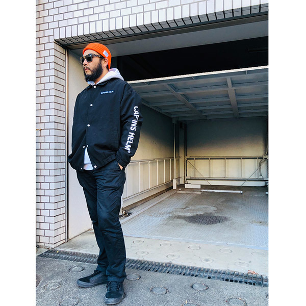 【DELIVERY】 CAPTAINS HELM - #TRADEMARK COTTON COACH JACKET_a0076701_17455170.jpg