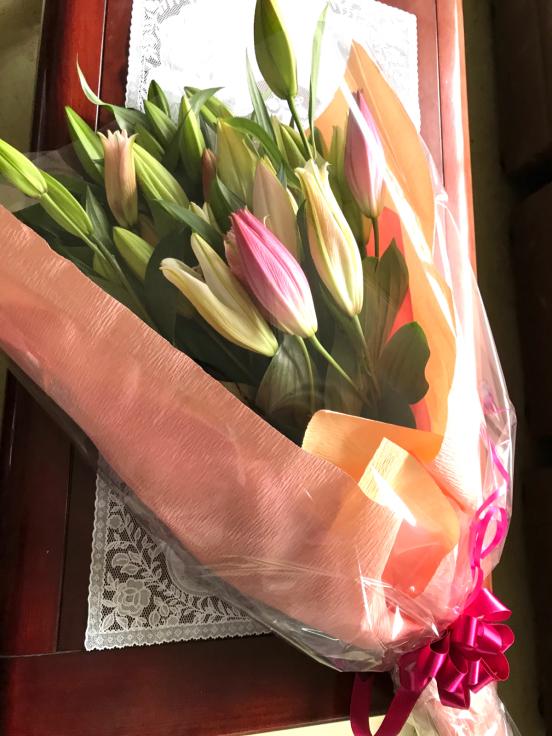 今日の花束💐_f0067514_22174348.jpg