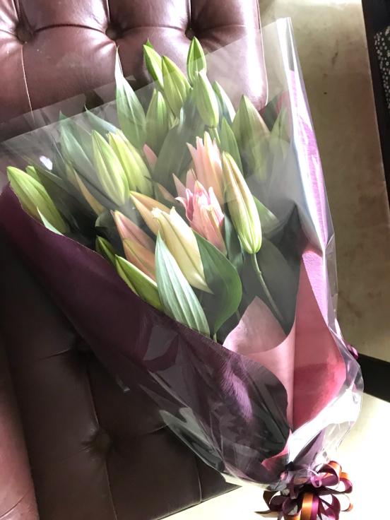 今日の花束💐_f0067514_22174584.jpg
