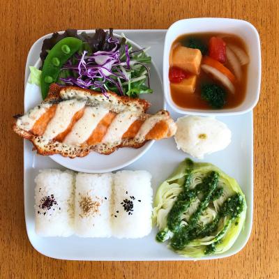 鮭のチーズ焼き_b0102217_17091475.jpg