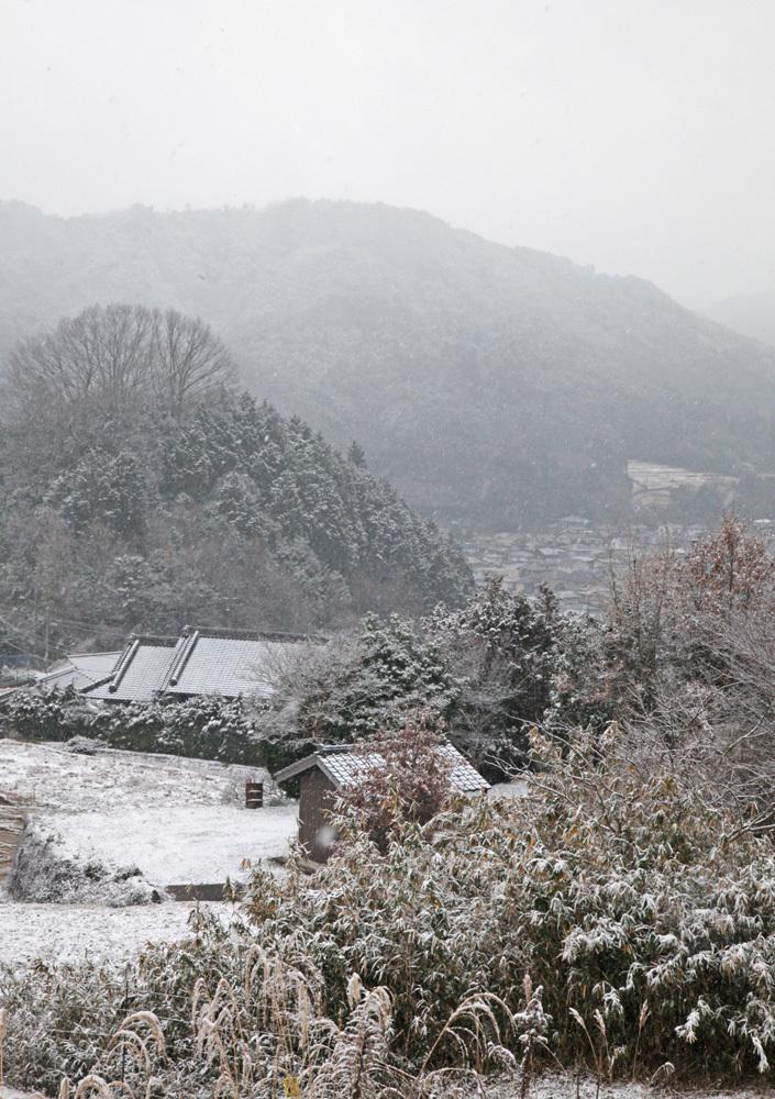 宇陀市 額井(ぬかい) 雪景色_c0108146_21352414.jpg