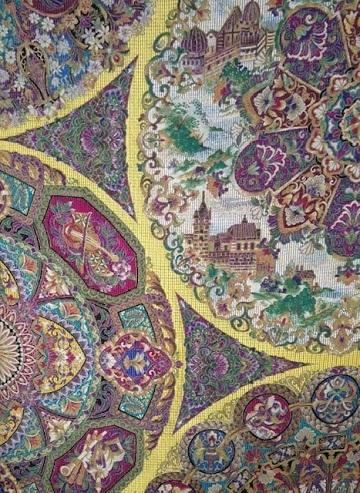 大豪華展にふさわしい螺鈿、三眠蚕金唐織、ゴブラン紹巴。_f0181251_18203206.jpg