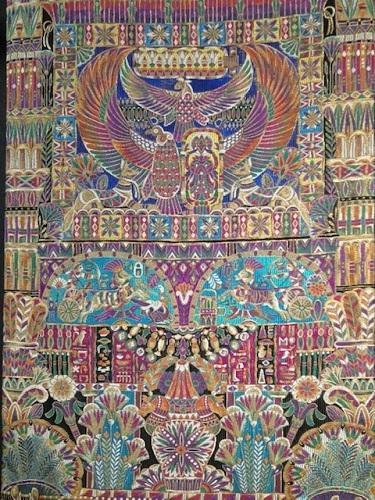 大豪華展にふさわしい螺鈿、三眠蚕金唐織、ゴブラン紹巴。_f0181251_18210190.jpg