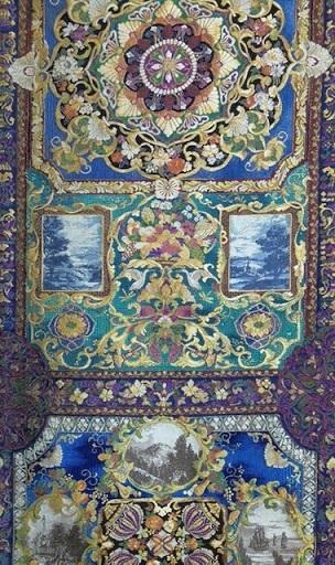 大豪華展にふさわしい螺鈿、三眠蚕金唐織、ゴブラン紹巴。_f0181251_18211970.jpg