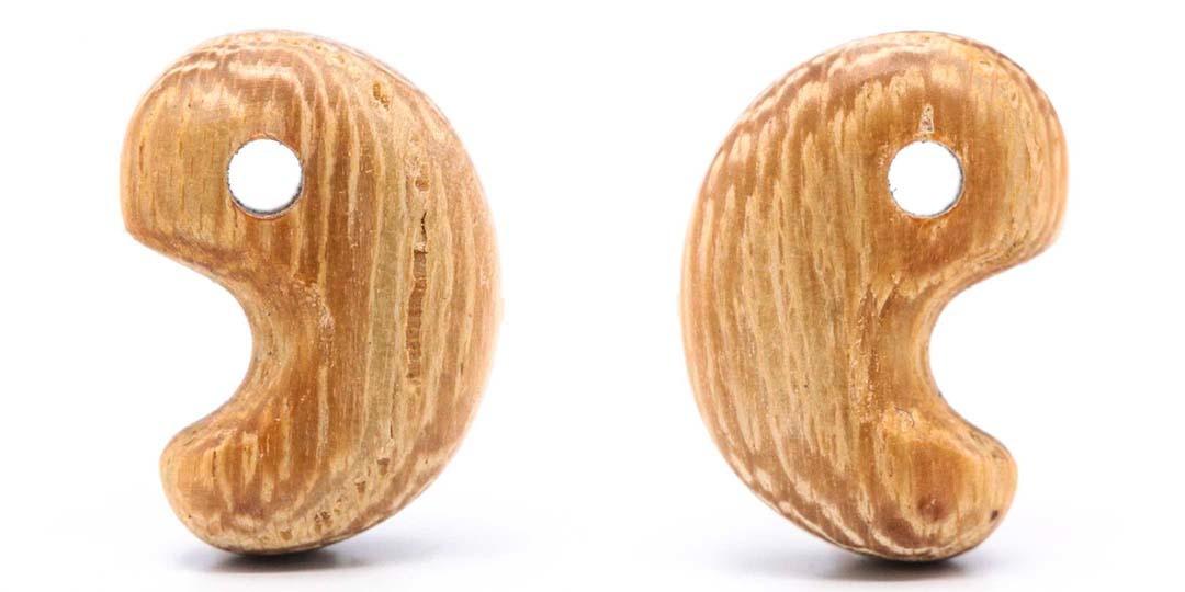 (木×出雲型勾玉!) 銘木勾玉 桜(国産材島根加工!)_d0303974_18374024.jpg
