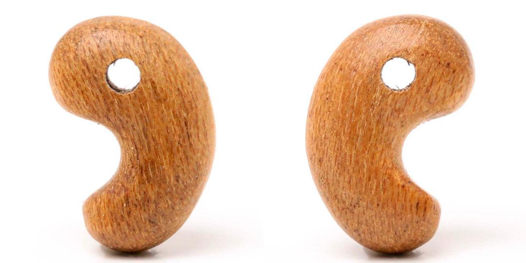 (木×出雲型勾玉!) 銘木勾玉 桜(国産材島根加工!)_d0303974_18400595.jpg