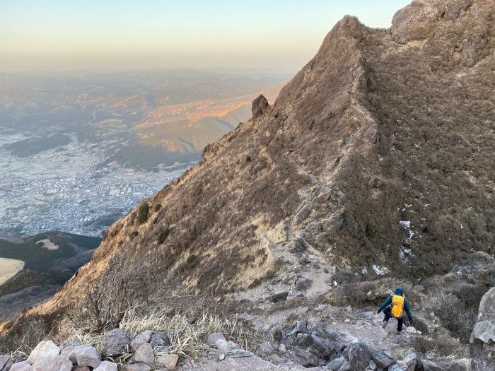 休みがあったら山登りin由布院-冬・由布岳_f0232994_12041281.jpg