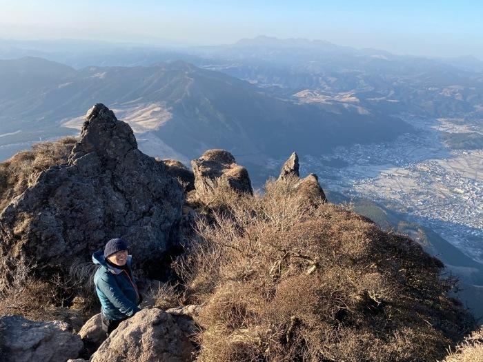 休みがあったら山登りin由布院-冬・由布岳_f0232994_12075976.jpg
