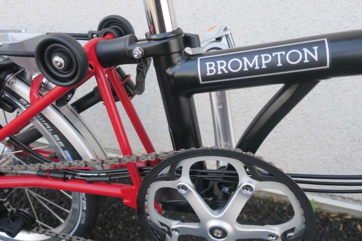 ブロンプトンM6R ブラック/レッド 入荷!_c0132901_20253560.jpg