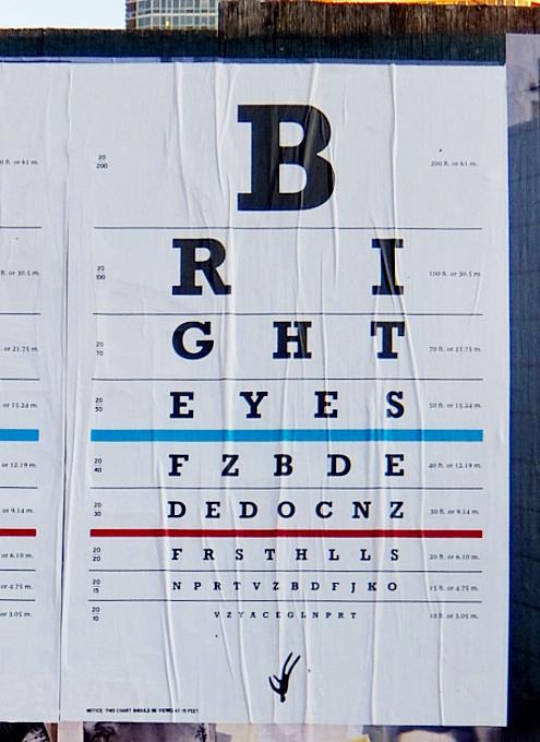 「視力検査表」みたいなデザインのポスター、an eye-chart themed poster_b0007805_07555503.jpg