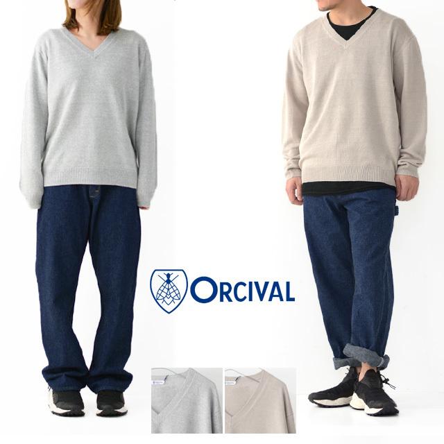 ORCIVAL [オーチバル・オーシバル] LINEN KNIT L/S Vネック [RC-4325] リネン ニット 長袖 Vネックセーター・MEN\'S/LADY\'S _f0051306_15502956.jpg