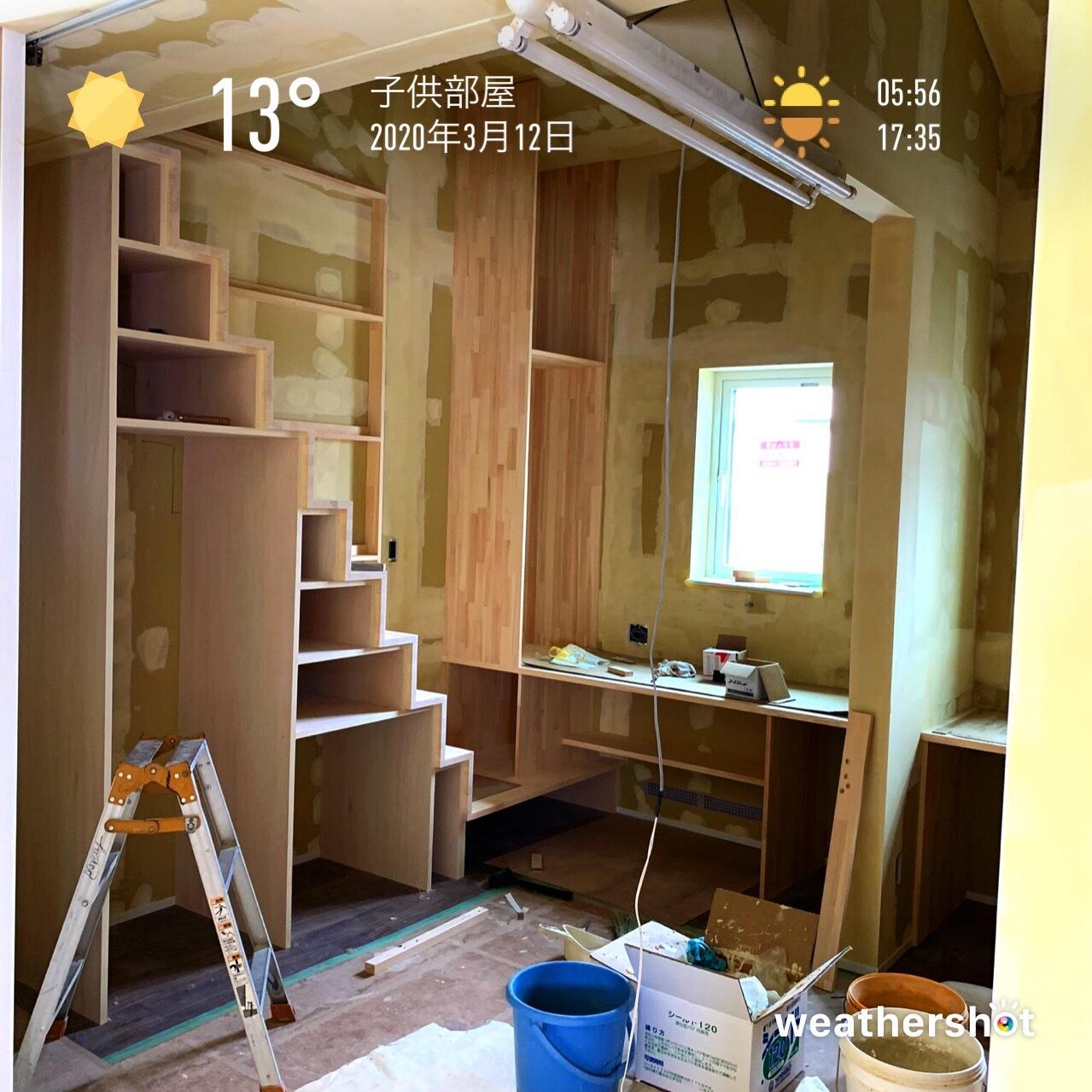 2020/3/12 子供部屋_f0116421_23143496.jpeg