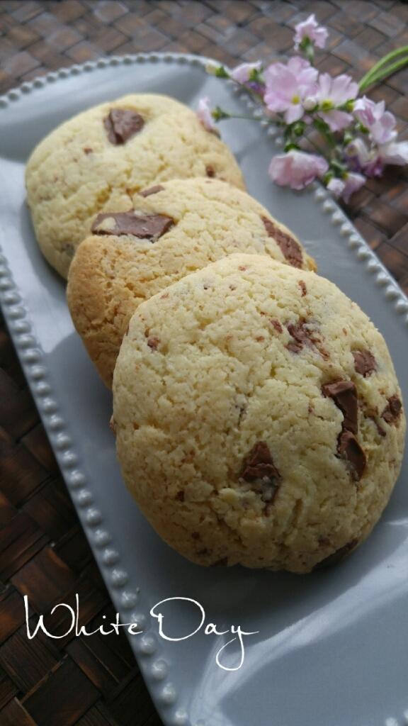 ホワイトデーにチョコクッキー_c0124528_08540631.jpg