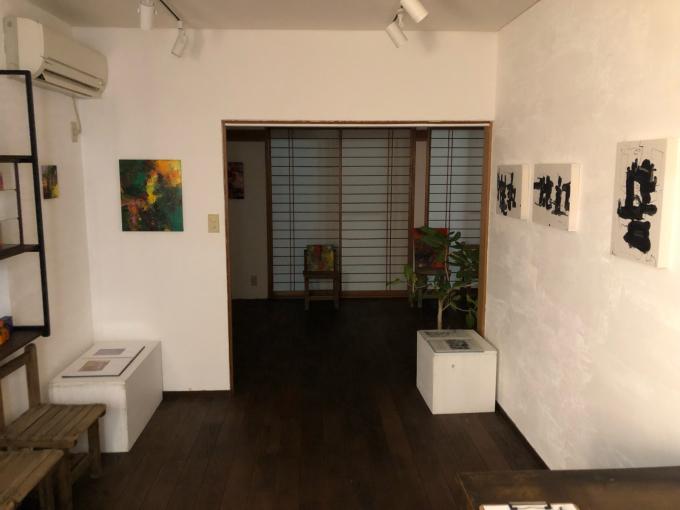 桐健二・桐洋生展 -記憶の音と色- 準備が整いました_d0347031_19093618.jpg