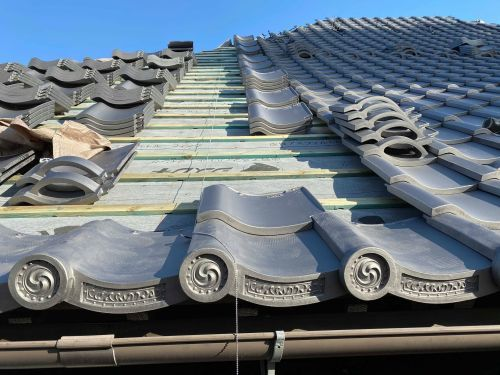 笛吹市 本燻しの屋根 其の九_b0242734_17294454.jpg